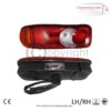 6 FUNCTION REAR BULB TYPE TAIL LIGHTS, NISSAN CABSTAR DAF LF45 LF55 CF XF95 XF105 2001 >FIAT DUCATO TIPPER CHASSIS 2012 >IVECO EUROCARGO PEUGEOT BOXER TIPPER CHASSISRENAULT MASCOT MIDLUM MASTER VOLVO FL FEVAUXHALL MOVANO VIVARO TIPPER CHASSIS