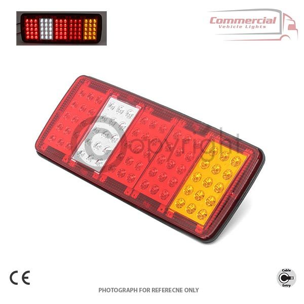 5 Function LED Rear Tail Truck Lorry Trailer Chassis Lights