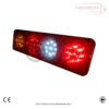 2 x 6 Function LED Rear Tail Truck Lorry Trailer Chassis Lights