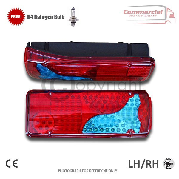Man LED Tail Lights