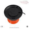 LED MAGNETIC MOUNT FLASHING BEACON 12/24 V WARNING LAMP FOR TRUCKS CARS & TRACTORS 1