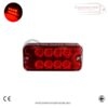 RED SIDE MARKER LIGHTS FOR ALL TRUCKS AND TRAILERS X 8 1
