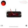 RED SIDE MARKER LIGHTS FOR ALL TRUCKS AND TRAILERS X 8 2