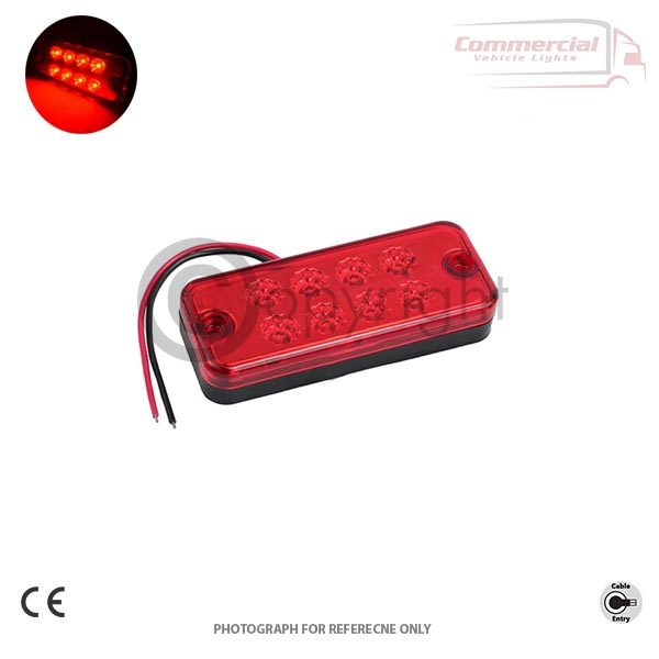 RED LED SIDE MARKER LIGHT