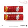 5 Function 24 v 70 LED Rear Truck Lorry Trailer Chassis Tail Lights 1