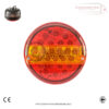 Hamburger 3 Function Tail Lights with Numberplate Light x 2 1