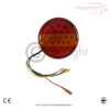 Hamburger 3 Function Tail Lights with Numberplate Light x 2 4