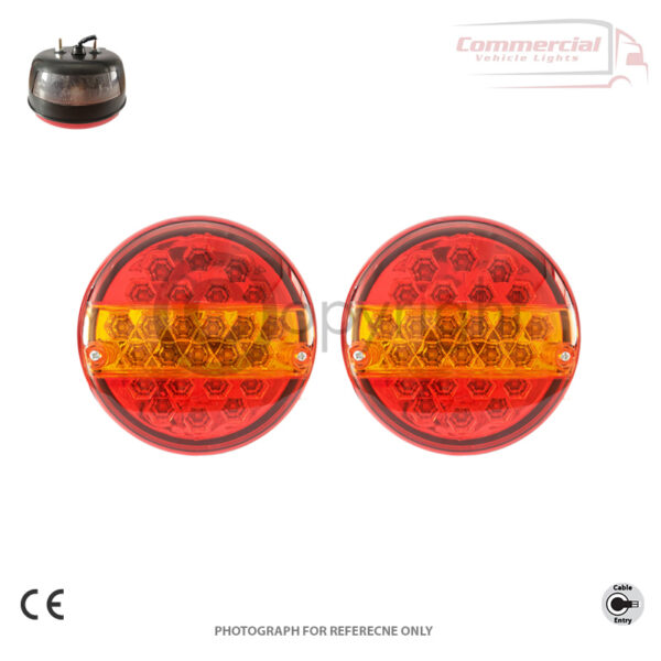 Hamburger Light with Number plate light