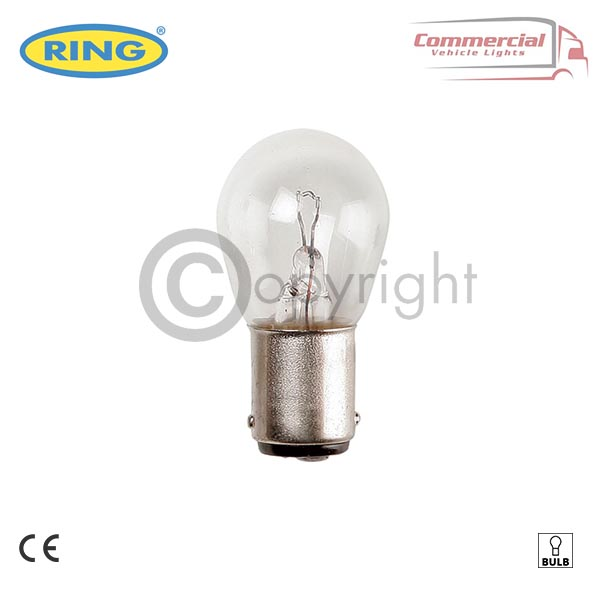 RING R241 24V 21 W BRAKE, INDICATOR, REVERSE, FOG BULBS x 10