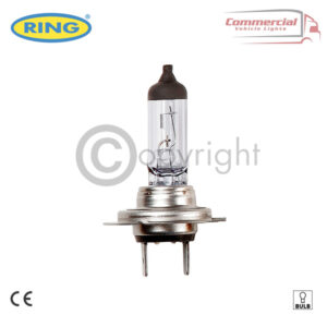 H7 RING R474 24v 70w Head Lamp, Dipped & Main Beam Bulbs x 2