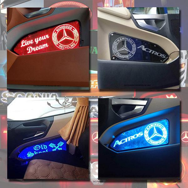 Actros LED Door PanelS