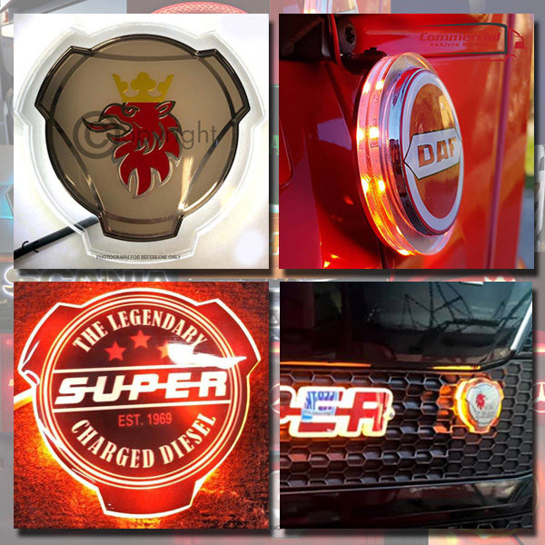 LED BACKLIT GRILL BADGE