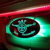 CUSTOM MIRROR / LIGHT BOARD FOR ALL TRUCKS & VANS 60x30cm 3