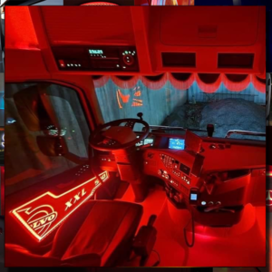 VOLVO FH/FM LED BACK-LIT CUSTOM INTERIOR DOOR PANELS