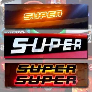 LED Super Logo