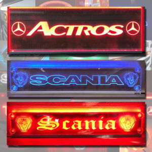 TRUCK OR VAN MULTIFUNCTION LED WINDSCREEN SIGN 500x100 mm