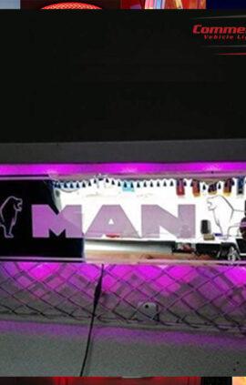 man mirror light board