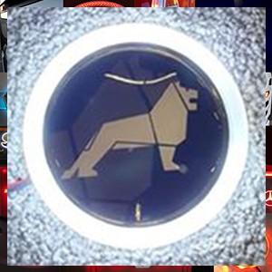 Man Lion LED Front Emblem