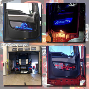 Man Tgx LED Door Panels