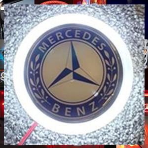 Mercedes Truck LED Front Emblem