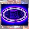 CUSTOM MIRROR / LIGHT BOARD FOR ALL TRUCKS & VANS 60x30cm 4