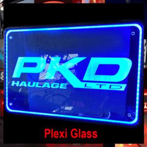Custom Truck Plexi Signs