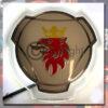 SCANIA, MERC, DAF, MAN, VOLVO, IVECO LED BACK-LIT GRILL BADGE X 2 3