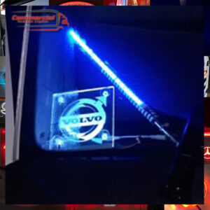 2 X 150x150mm LED WINDSCREEN SIGNS FOR TRUCKS, VAN & CARS