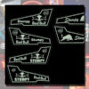 VOLVO FH/FM LED BACK-LIT CUSTOM INTERIOR DOOR PANELS 2