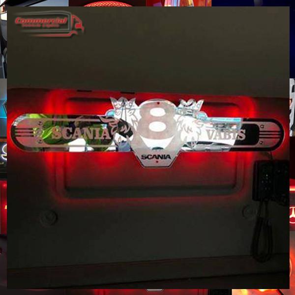 SCANIA V8 CUSTOM INTERIOR TRUCK MIRROR 1000x250mm