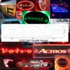 DAF BACK-LIT LED NAME BADGE CHROME EURO 6 5