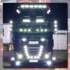 DAF BACK-LIT LED NAME BADGE CHROME EURO 6 3
