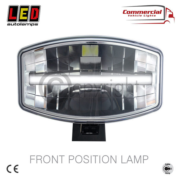 DL245 Oval LED Driving Lamp