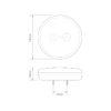 HB140STIM Slimline 'Hamburger Style' 3 Function Rear Combination Lamp 1
