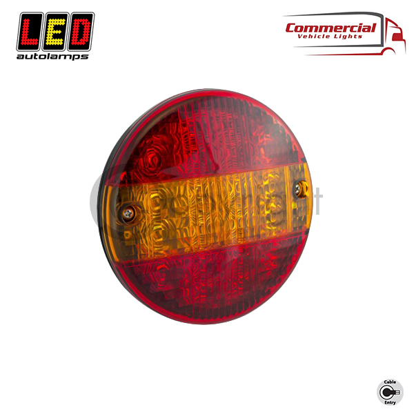HB140STIM Slimline 'Hamburger Style' 3 Function Rear Combination Lamp