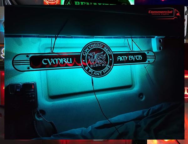 Welsh interior mirror