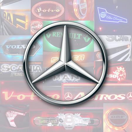 Mercedes Custom Truck Lights