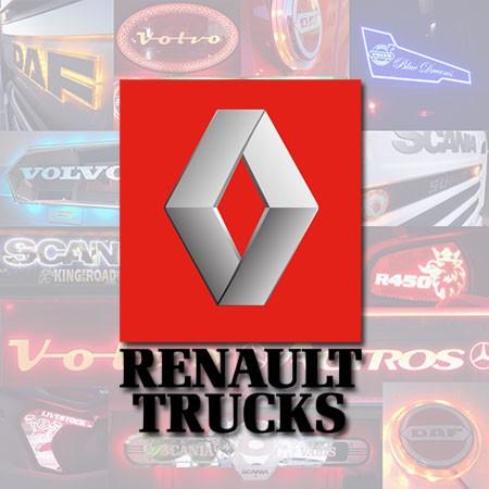 Renault custom truck lights