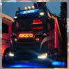 SCANIA GRILLE BADGE STAINLESS STEEL LED BACK-LIT 5