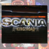SCANIA GRILLE BADGE STAINLESS STEEL LED BACK-LIT 3