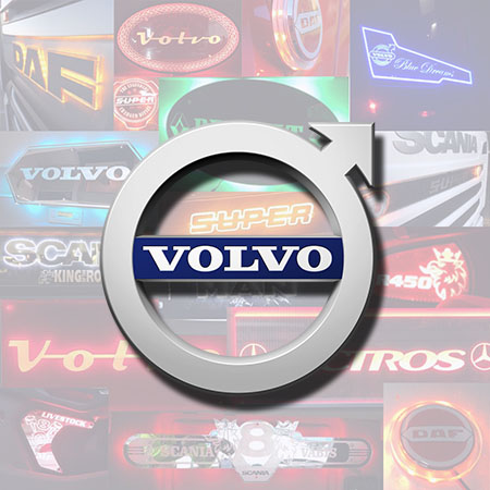 Volvo Truck Custom Lighting