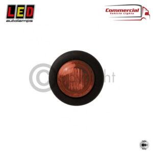 SIDE MARKER LIGHT RED 28 MM DIAMETER