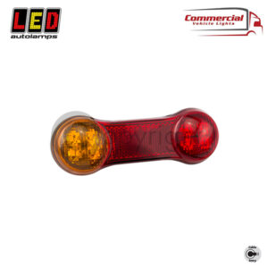 DogBone Stop / Tail / Indicator / Reverse Compact Combination Lamp
