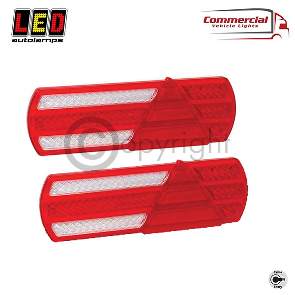 EU390LR2 Low Profile Truck / Trailer 6 Function Combination Lamps