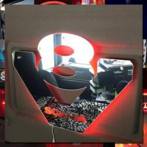 24 volt Custom Truck Mirrors 45x45 cm