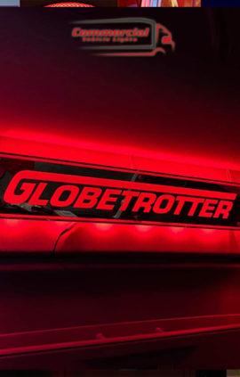 CUSTOM MIRROR / LIGHT BOARD FOR ALL TRUCKS & VANS 80x15cm