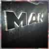 MAN BACK-LIT LED NAME BADGE WITH HIGH POLISHED FINISH 1 3