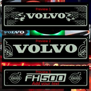 Volvo Bulkhead Mirror