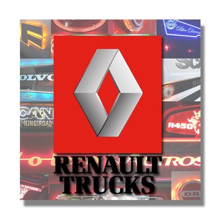 Renault custom truck lighting