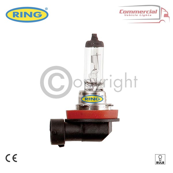 RING R458 24V 70W HEADLIGHT H11 BULB